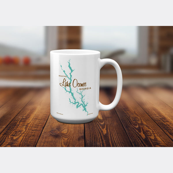 Lake Oconee Georgia, 15oz Mug