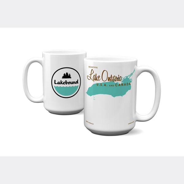 Lake Ontario New York, 15oz Mug