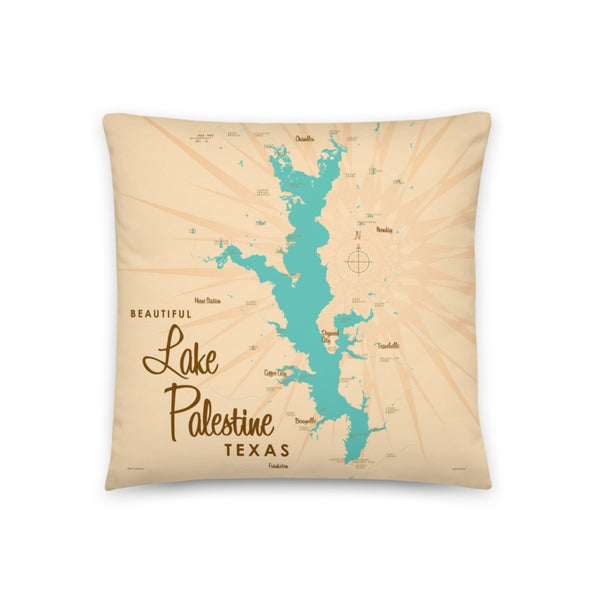 Lake Palestine Texas Pillow