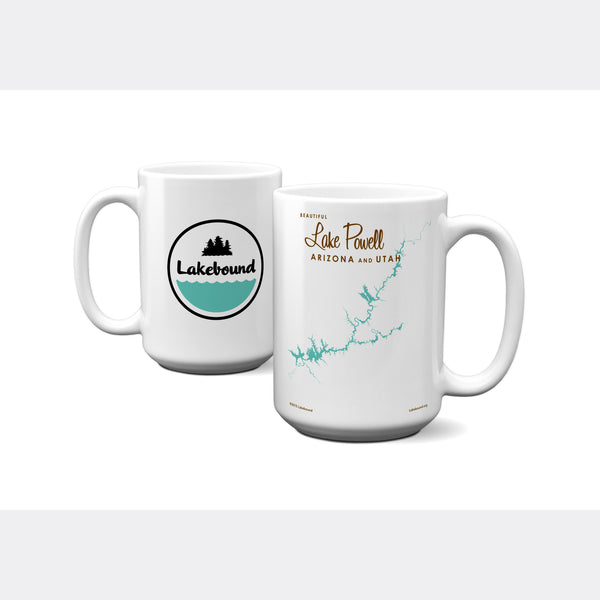 Lake Powell UT Arizona, 15oz Mug
