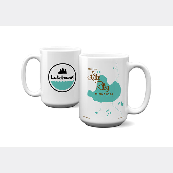Lake Riley Minnesota, 15oz Mug