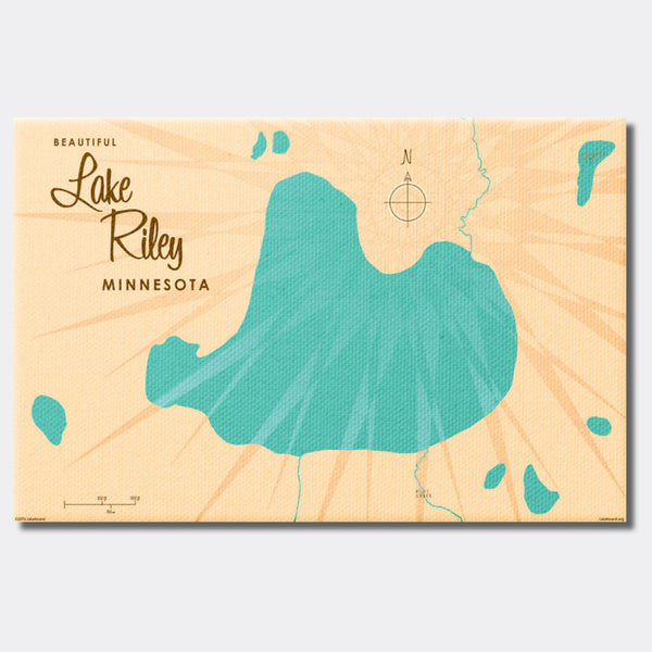 Lake Riley Minnesota, Canvas Print