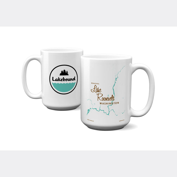 Lake Roosevelt Washington, 15oz Mug