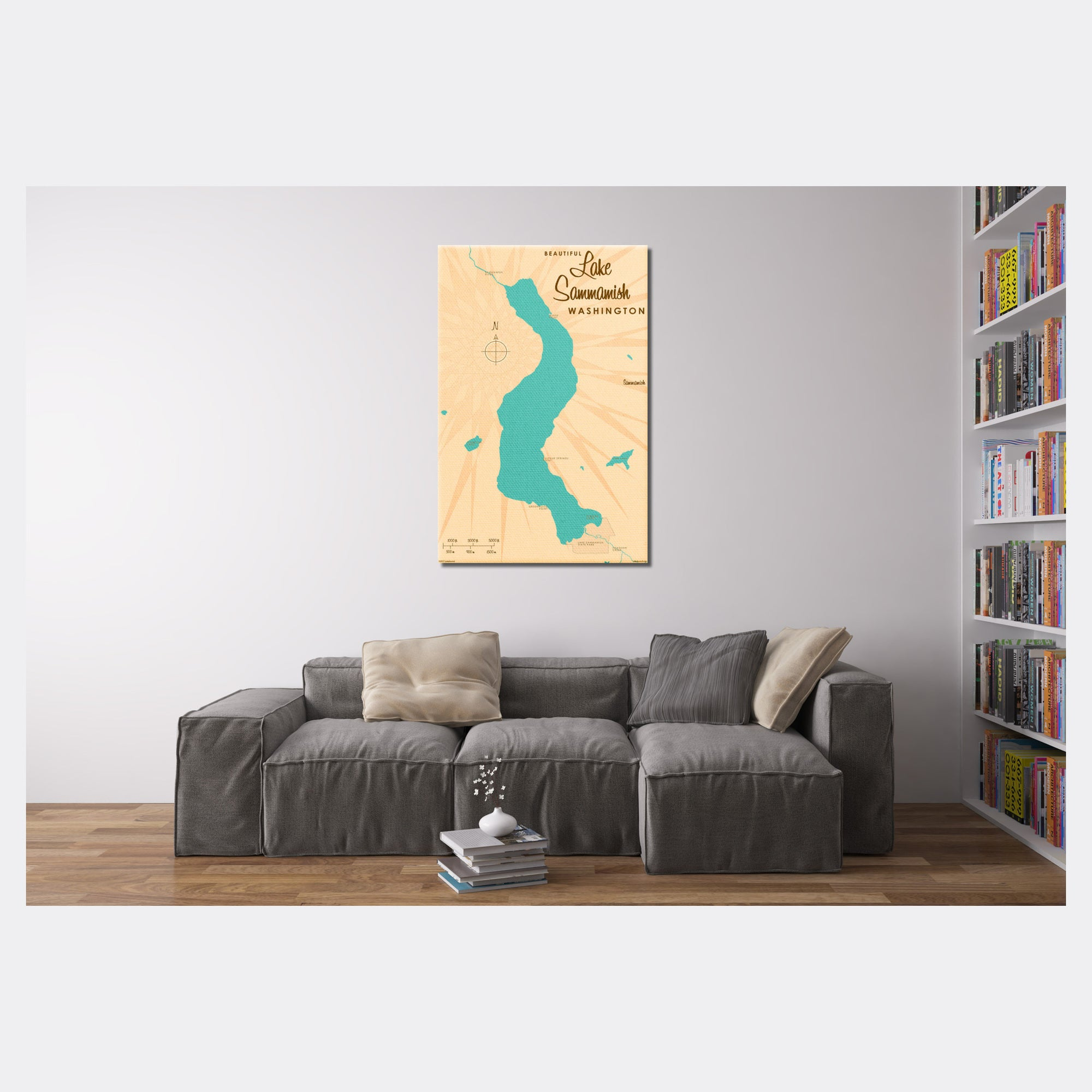 Lake Sammamish Washington, Canvas Print
