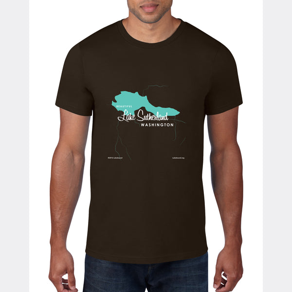 Lake Sutherland Washington, T-Shirt