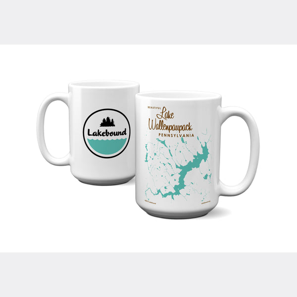 Lake Wallenpaupack Pennsylvania, 15oz Mug