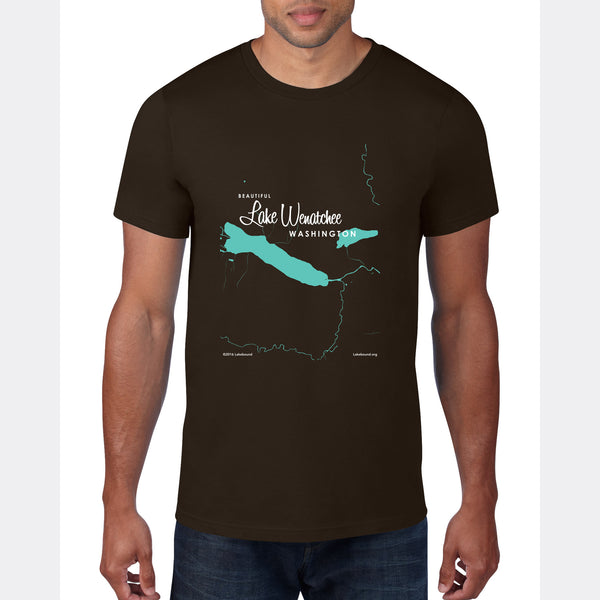Lake Wenatchee Washington, T-Shirt
