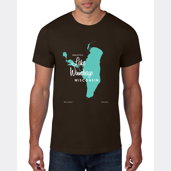 Lake Winnebago Wisconsin, T-Shirt
