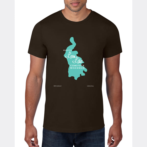 Loon Lake Wisconsin, T-Shirt