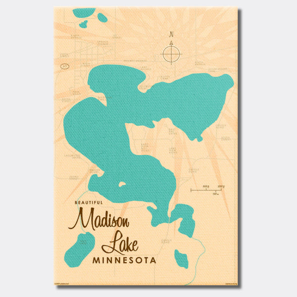 Madison Lake Minnesota, Canvas Print