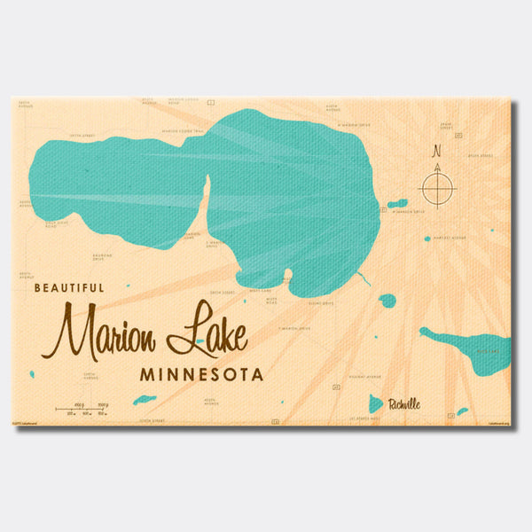 Marion Lake Minnesota, Canvas Print