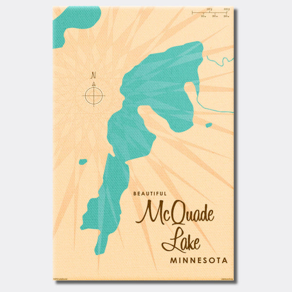 McQuade Lake Minnesota, Canvas Print