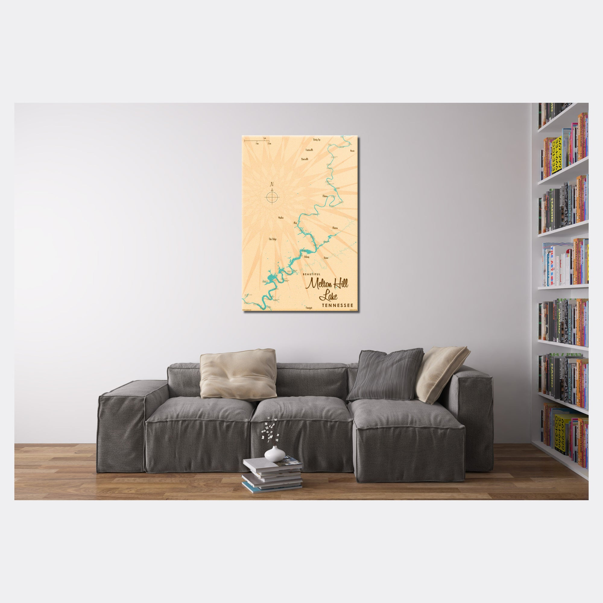 Melton Hill Lake Tennessee, Canvas Print