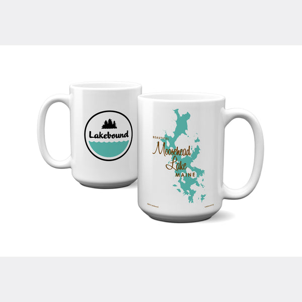 Moosehead Lake Maine, 15oz Mug