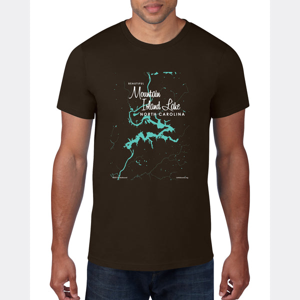 Mountain Island Lake North Carolina, T-Shirt