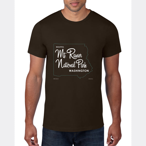Mt. Rainier Washington, T-Shirt