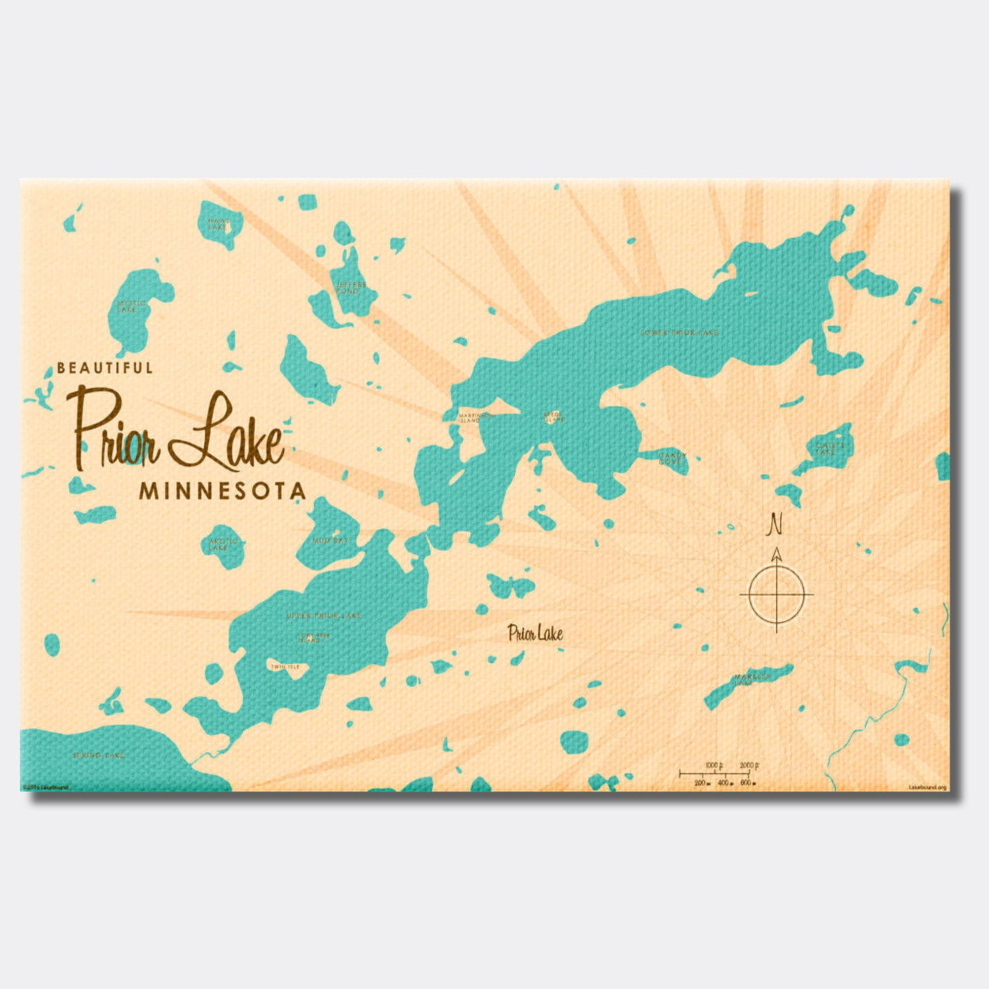 Prior Lake Minnesota, Canvas Print