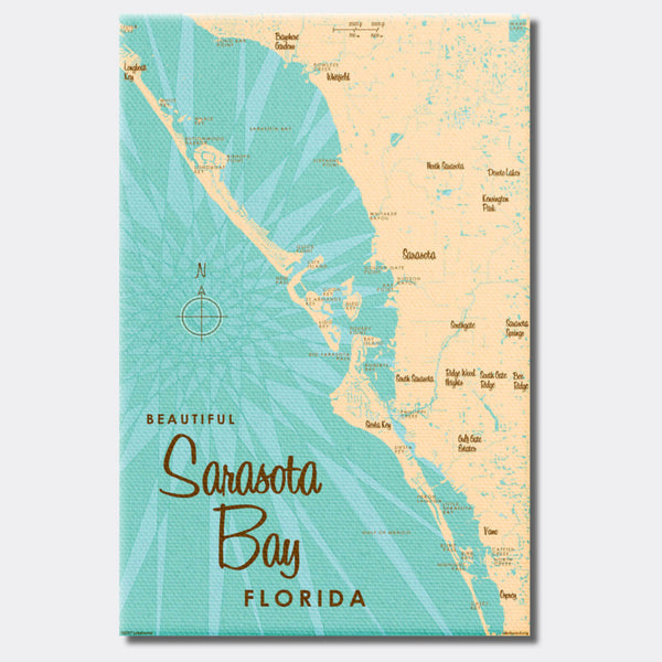 Sarasota Bay Florida, Canvas Print