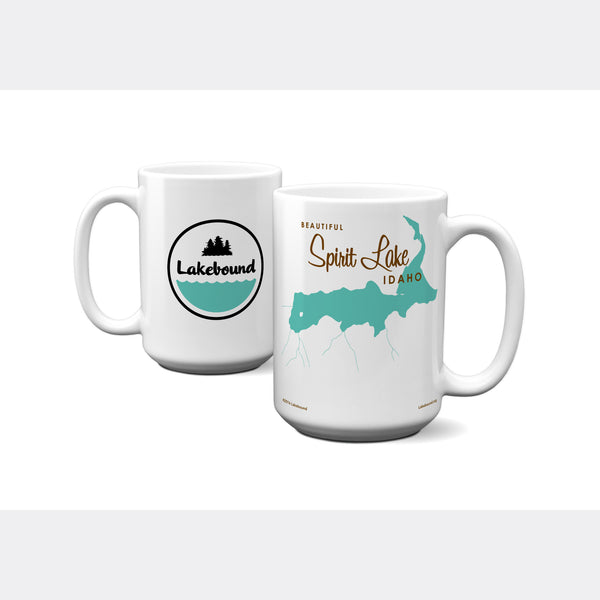 Spirit Lake Idaho, 15oz Mug
