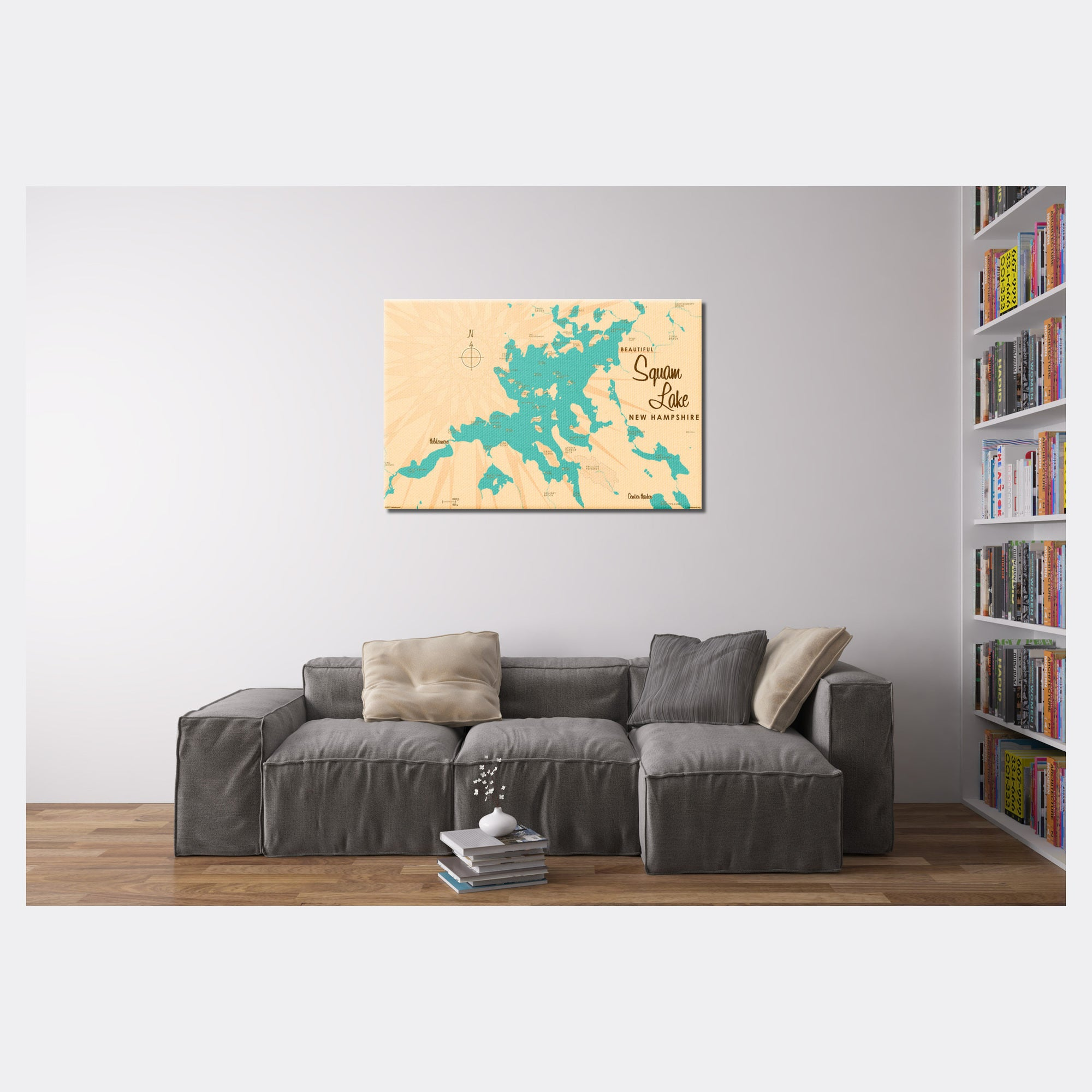 Squam Lake New Hampshire, Canvas Print