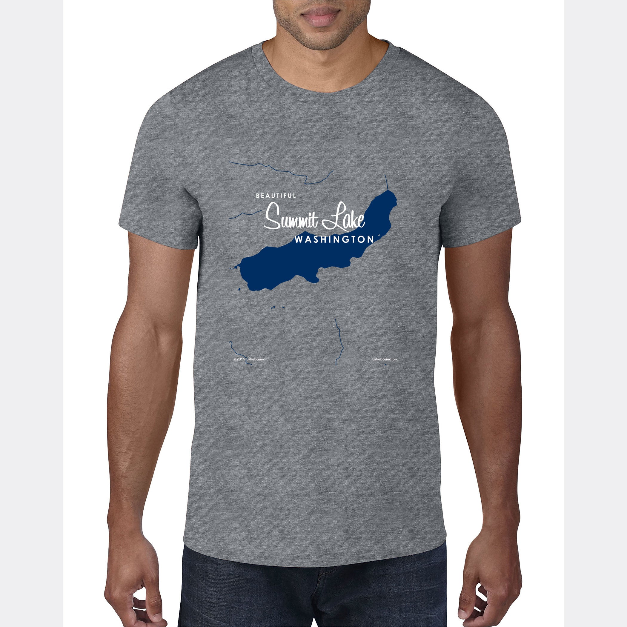 Summit Lake Washington, T-Shirt