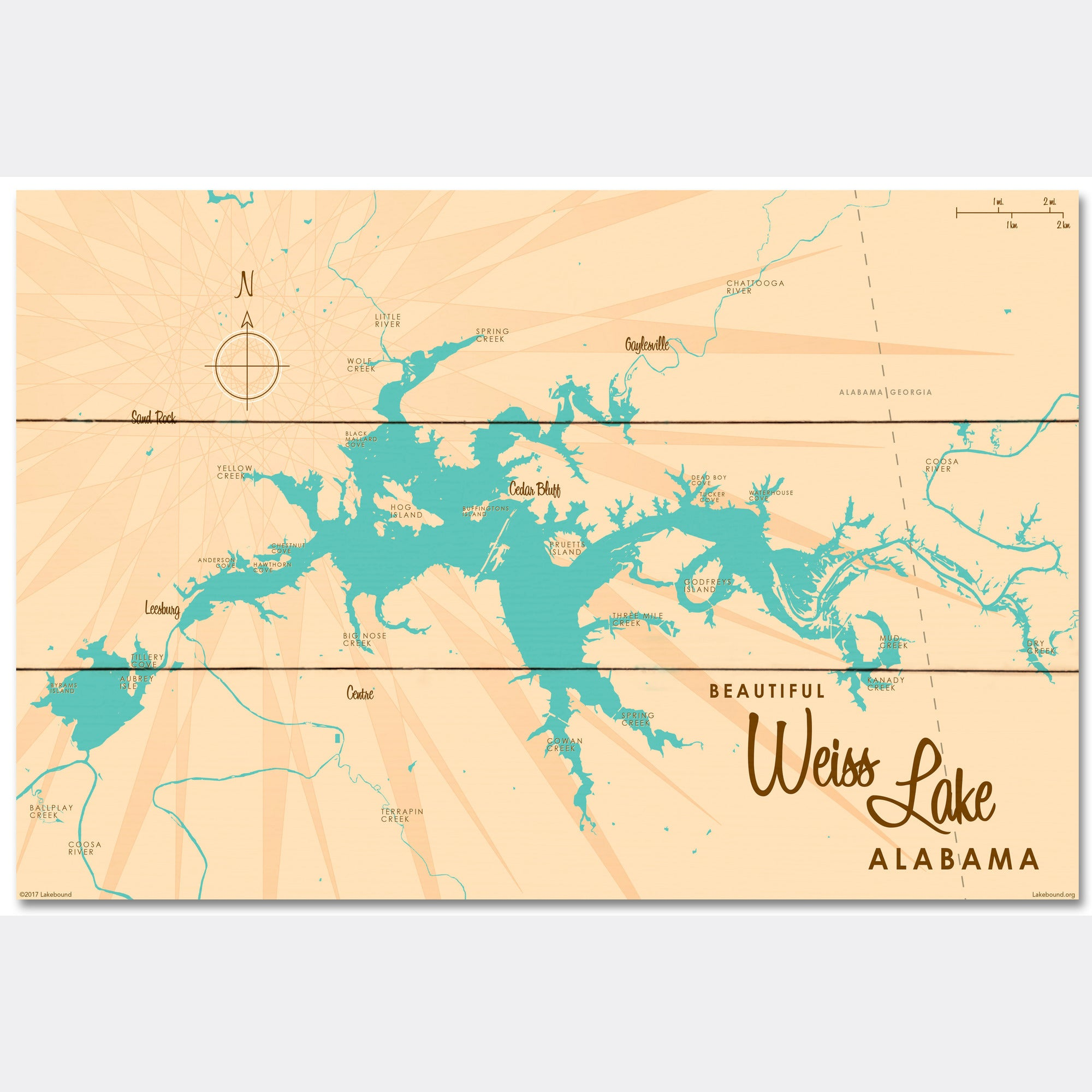 Weiss Lake Alabama, Wood Sign Map Art on map of sw georgia, map of northwest ga, map of southern montana, map tuscaloosa al, map of georgia geology, map of counties of georgia, map tennessee and alabama, county map georgia and alabama, map of georgia alabama line, map of lagrange georgia, map mississippi and alabama,