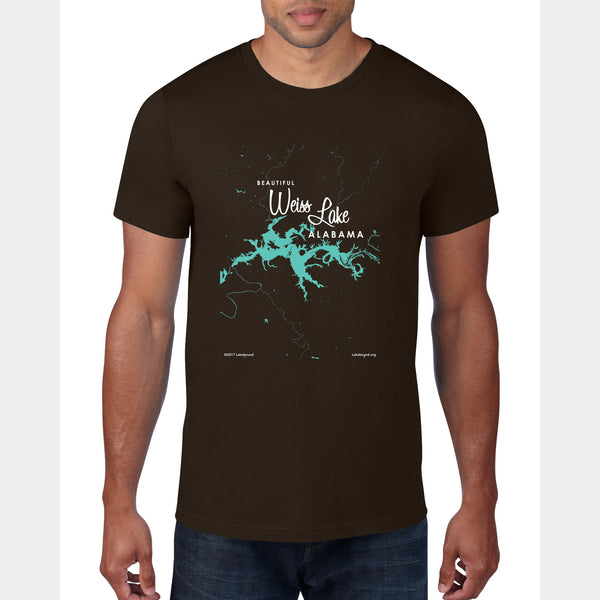 Weiss Lake Alabama, T-Shirt
