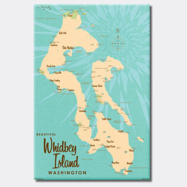 Whidbey Island Washington, Canvas Print