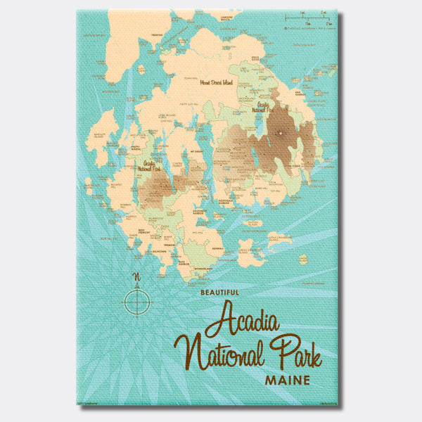 Acadia National Park, ME Canvas Print