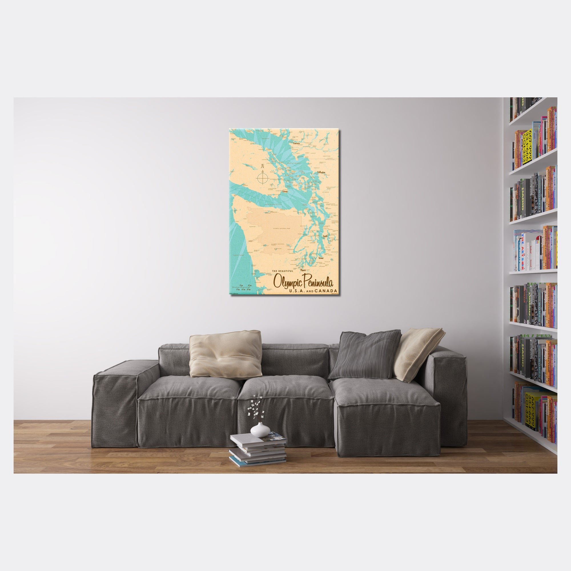 Olympic Peninsula , Canvas Print