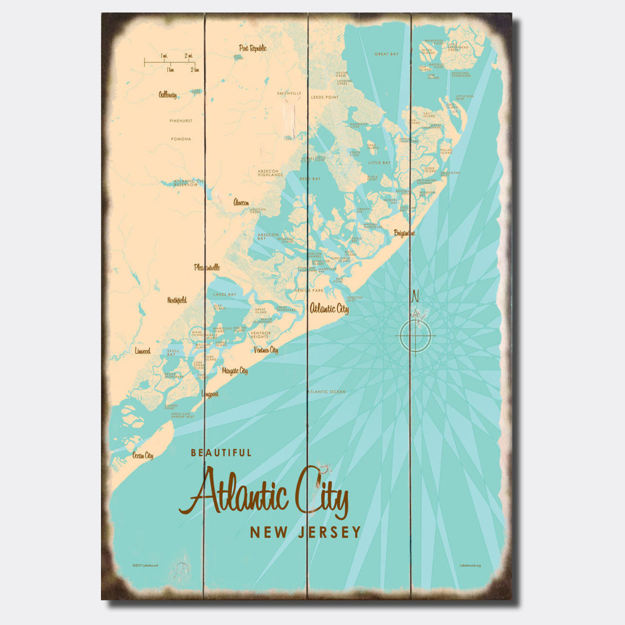 Atlantic City New Jersey, Sign