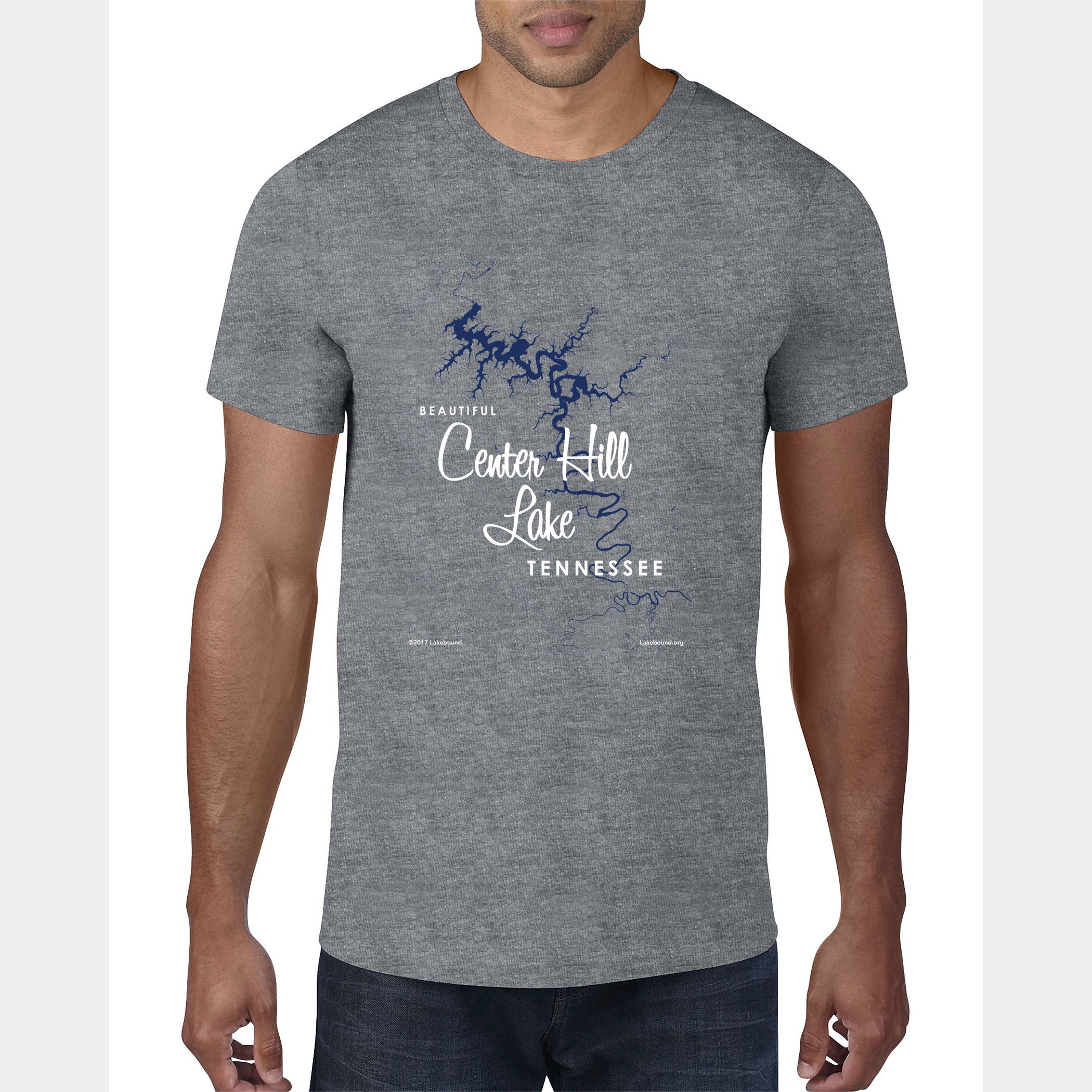 Center Hill Lake, Tennessee, T-Shirt