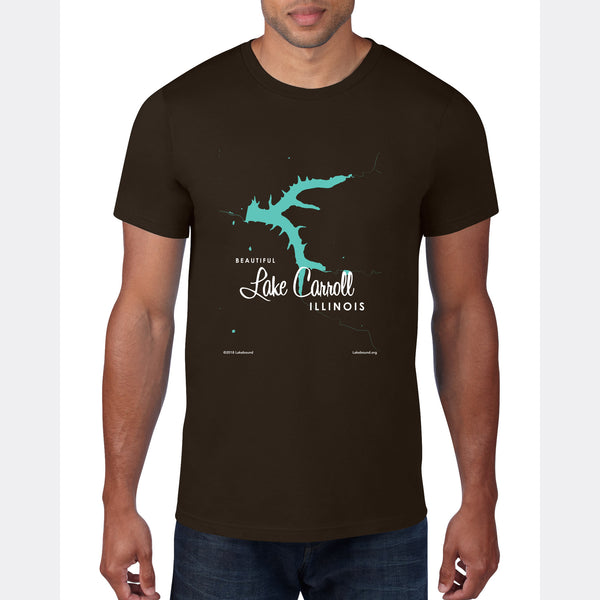 Lake Carroll Illinois, T-Shirt