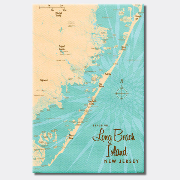 Long Beach Island, New Jersey, Canvas Print
