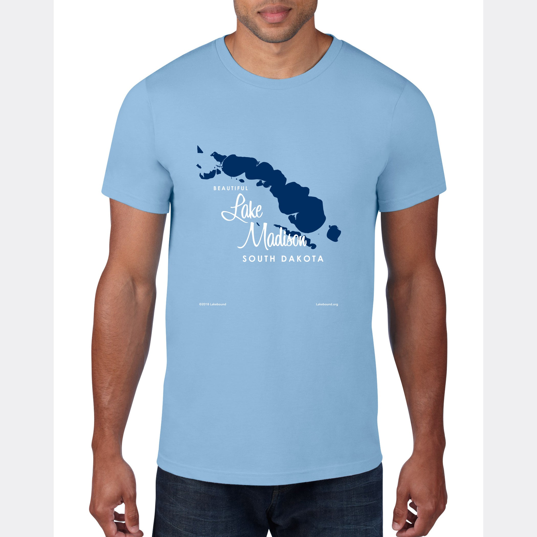 Lake Madison South Dakota, T-Shirt