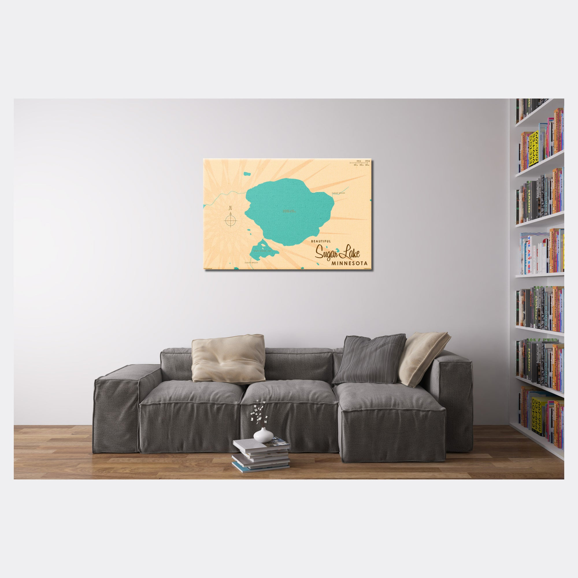 Sugar Lake Minnesota, Canvas Print