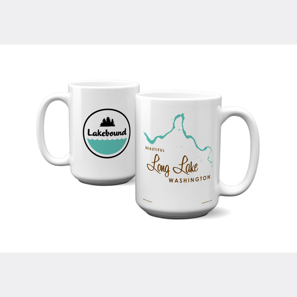 Long Lake Washington, 15oz Mug