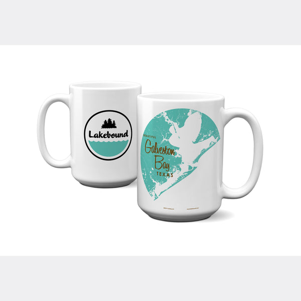 Galveston Bay Texas, 15oz Mug