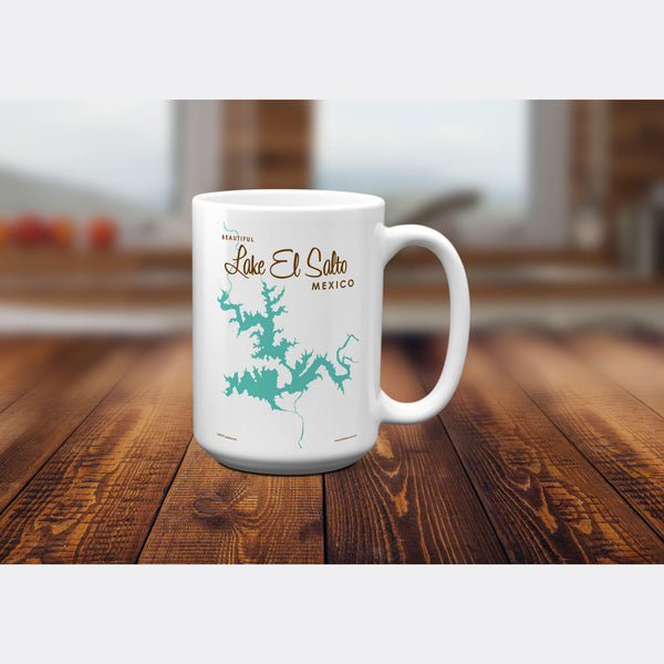 Lake El Salto Mexico, 15oz Mug
