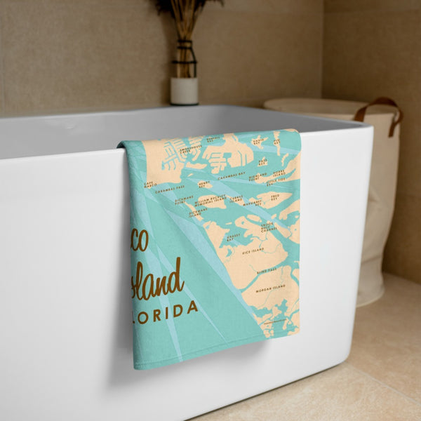 Marco Island Florida Beach Towel