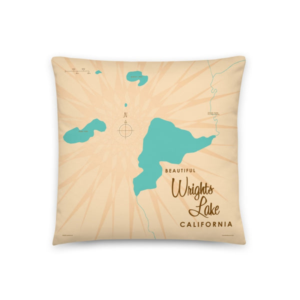 Wrights Lake California Pillow