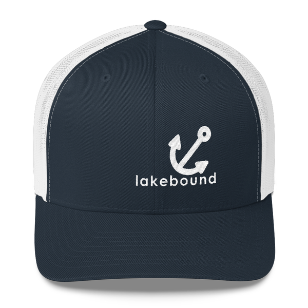 Lakebound Anchor Trucker Hat