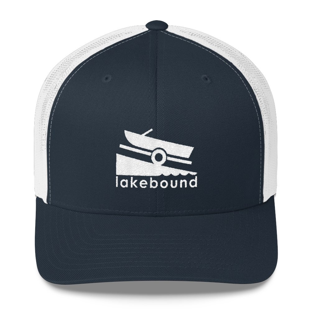 Lakebound Boat Launch Trucker Hat