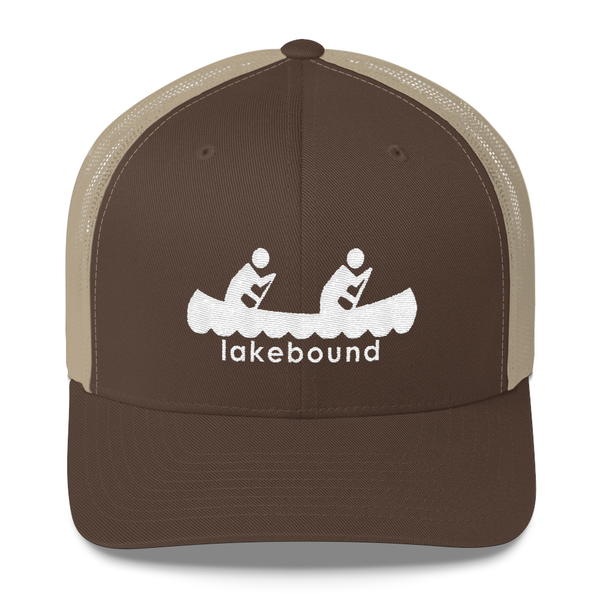 Lakebound Canoeing Trucker Hat