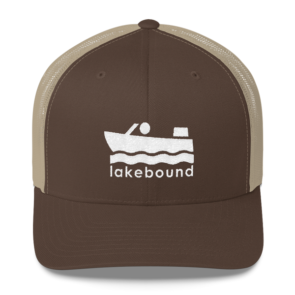 Lakebound Motorboat Trucker Hat