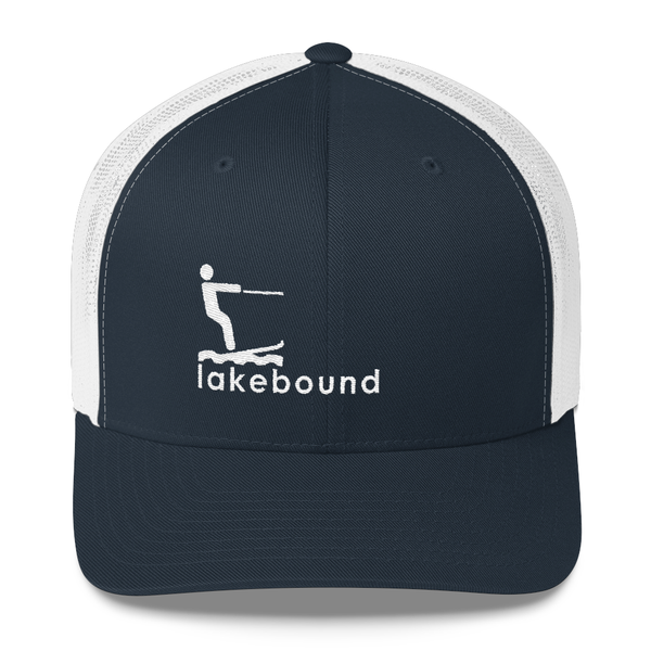 Lakebound Waterskiing Trucker Hat