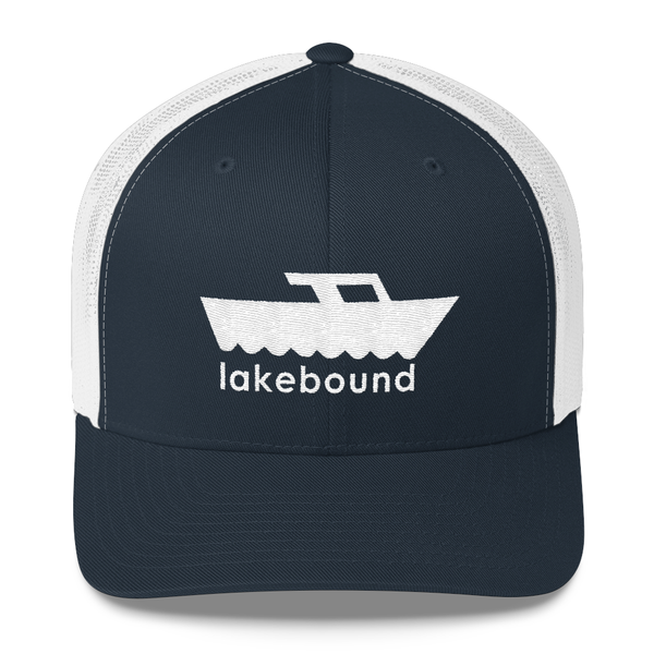 Lakebound Speedboat Trucker Hat