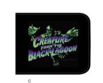 Blue Creature From the Black Lagoon Wallet
