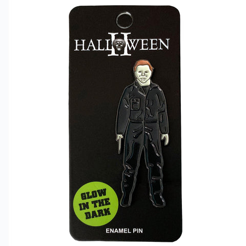 Michael Myers Glow In The Dark Enamel Pin