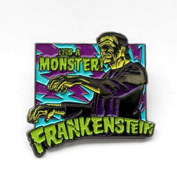 It's A Monster! Enamel Pin